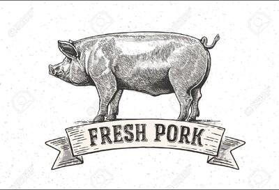pork, ground, frozen; per pack aver 1#; Backbone Farm