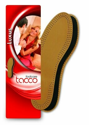 Tacco Luxus Comfort Leather Insoles Flat Shoe Inserts - ORIGINAL