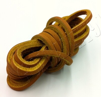 Rawhide Leather Laces Shoelaces Moccasin Shoe Strings  1/8