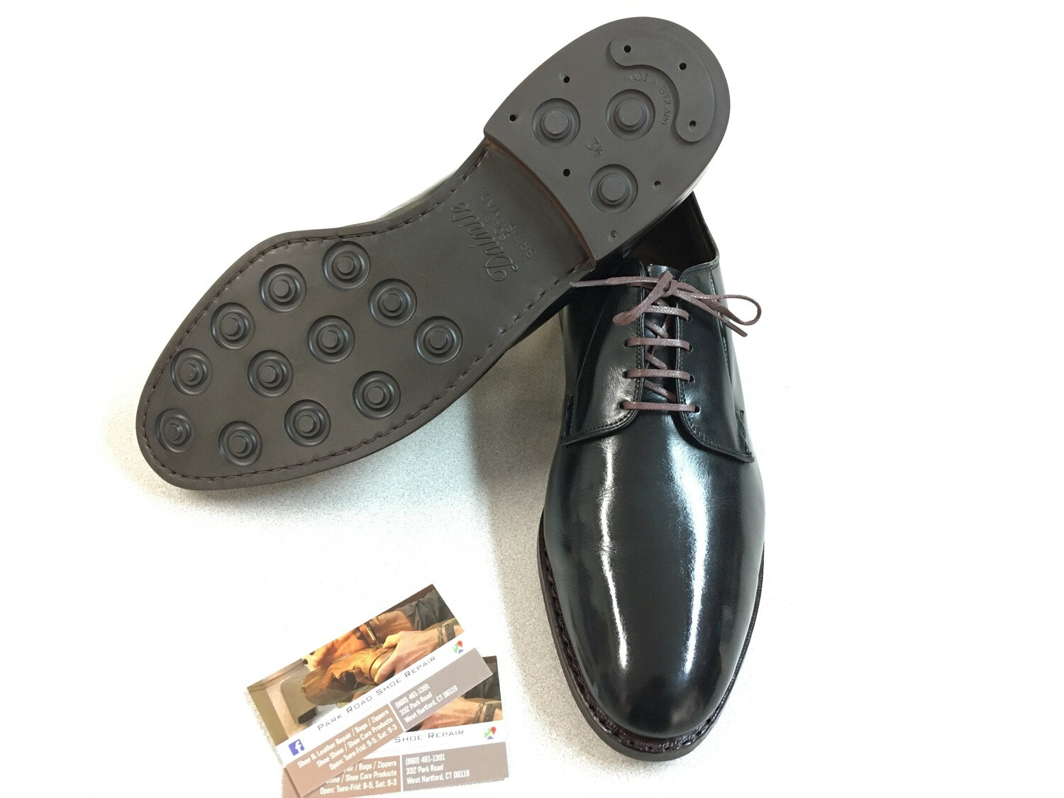 Men's Dainite Full Rubber Soles & Heels