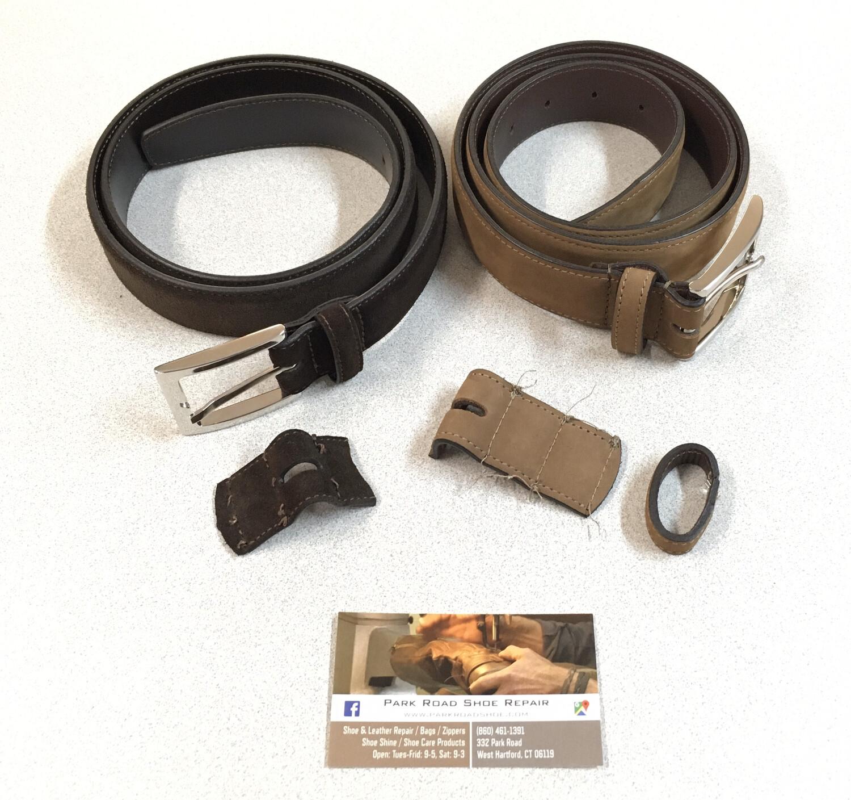 Belt Shortening & Adjustment