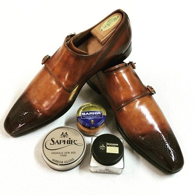 Men's Shoe Recondition and Professional Glossy Shine
