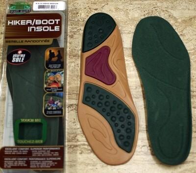 Original Green Hiker Boot GEL Insoles Shoe Inserts