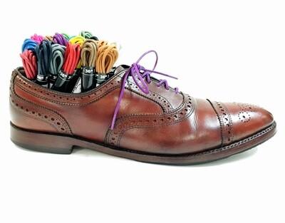 Premium Round Waxed Cotton Dress Shoelaces