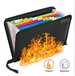 Fireproof File Holders