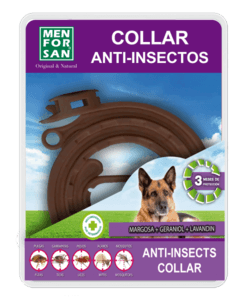 Men For San Collier Anti-Insectes Pour Chien