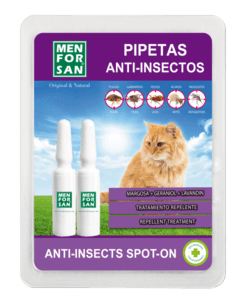 Men For San Pipettes « Spot-On » Anti-Insectes Pour Chat
