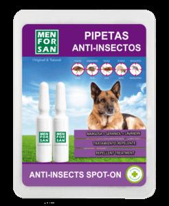 Men For San Pipettes « Spot-On » Anti-Insectes Pour Chien