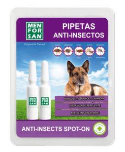 Men For San Pipettes « Spot-On » Anti-Insectes Pour Chien