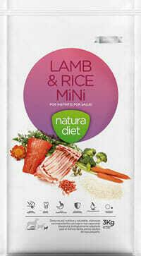 Natura Diet Lamb & Rice Mini