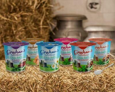 Fruit Yogurt Pots 12x150g (Grahams)