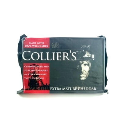 Colliers Powerful Extra Mature Welsh Cheddar