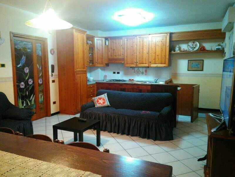 TRESTINA. Appartamento di 80 mq con ingresso indipendente