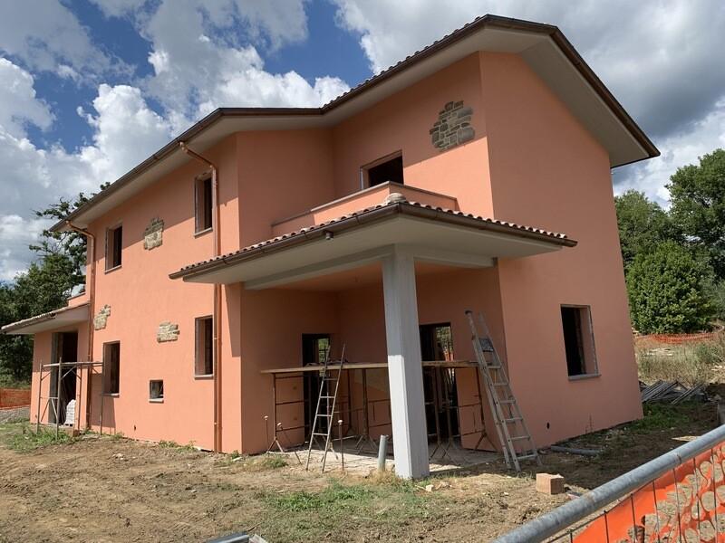 MORRA. Villa indipendente di 150 mq in corso di costruzione