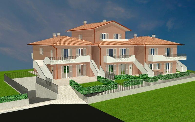 TRESTINA. Abitazioni indipendenti di nuova costruzione