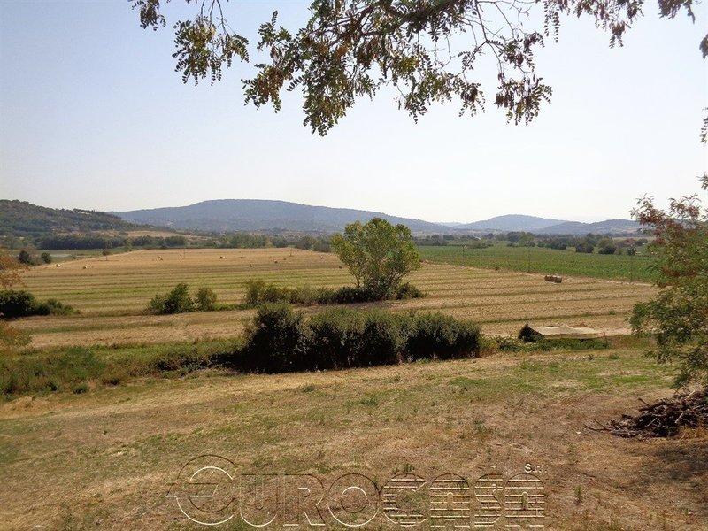 PERUGIA. Azienda di 166 ettari con vigna e seminativo irriguo