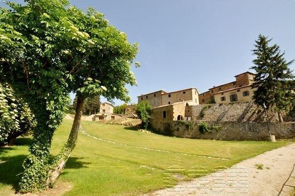 CITTA' DI CASTELLO. Intero borgo del XVI secolo