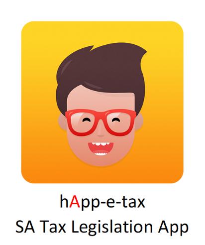 hApp-e-tax SA Tax Legislation