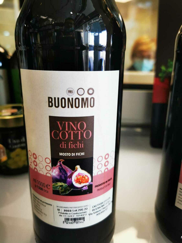 Vincotto di Fichi Buonomo - Bottiglia da 1 lt (1.350 gr.)