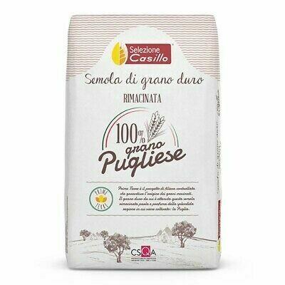 Semola Rimacinata di grano duro 100% Puglia - 1 kg