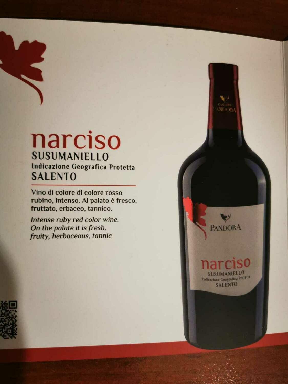 Narciso - Susumaniello I.G.P. Salento - Cantine Pandora