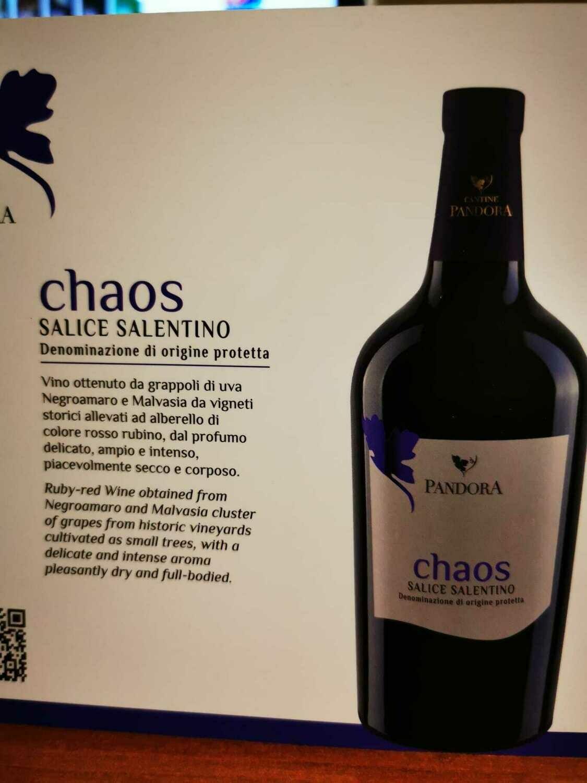Chaos Salice Salentino DOC - Cantine Pandora