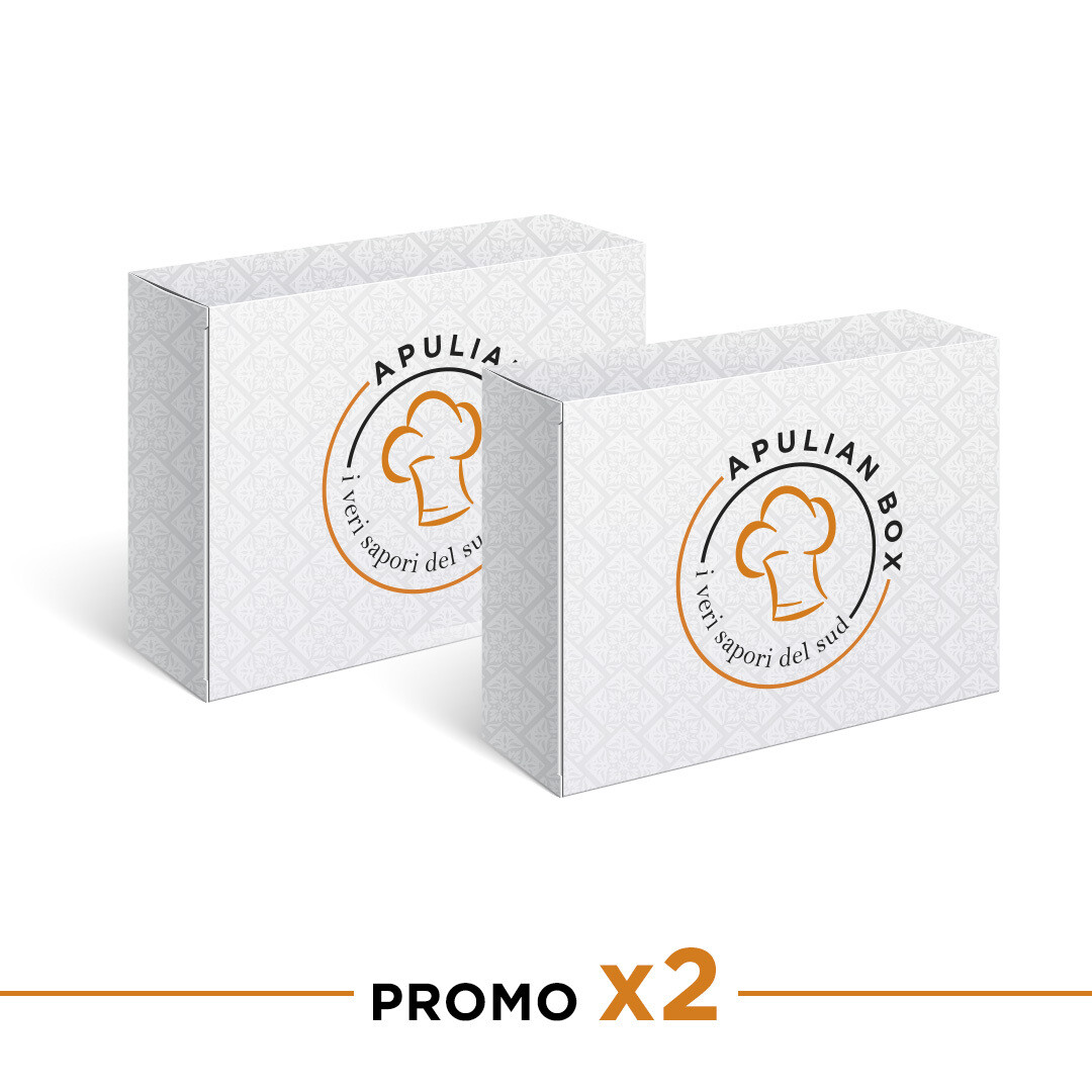 ApulianBox x 2 (solo ordini dall'Italia /orders from Italy only)