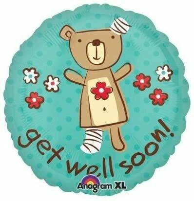 Anagram Get Well Huggable Bear