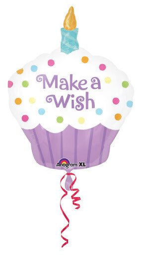Anagram make a wish cupcake