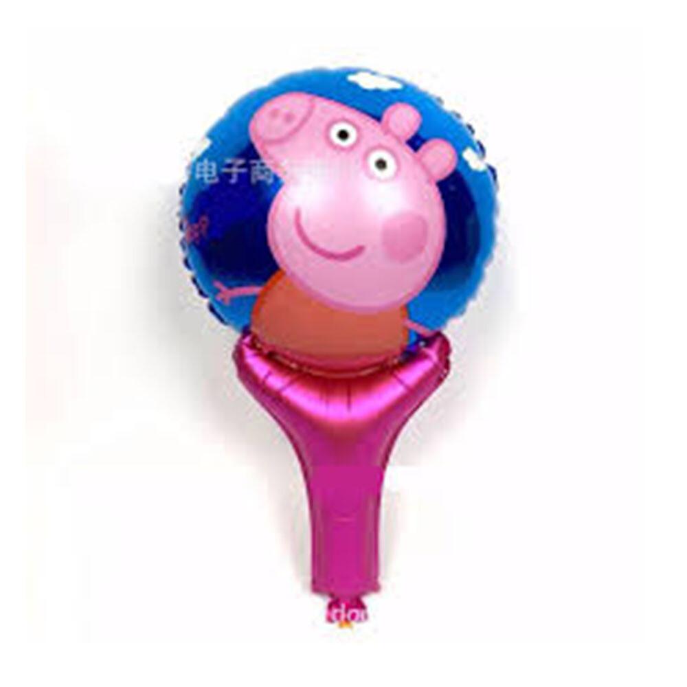 Peppa Lolly Shape Mylar Balloon