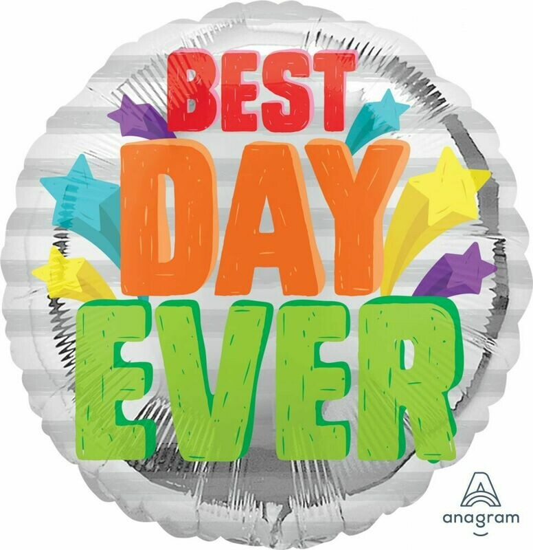 Best Day Ever Balloon Foil Balloon