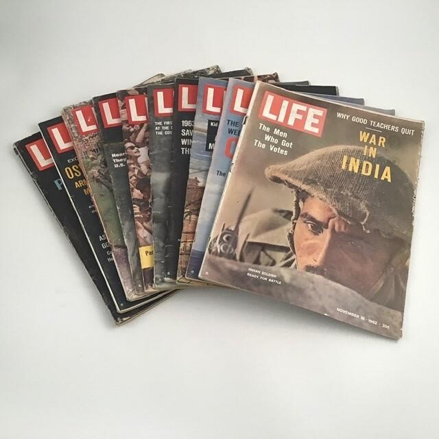 60s Era Life Magazines