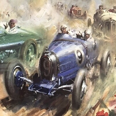 Terence Cuneo Framed Reproduction