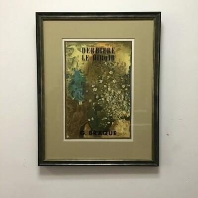 Framed Reproduction Of Georges Braque's Derrière Le Miroir Cover