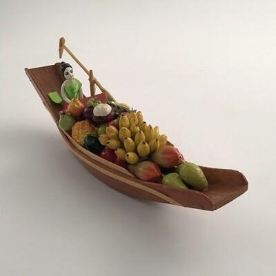 Thai Fruit Boat Souvenir