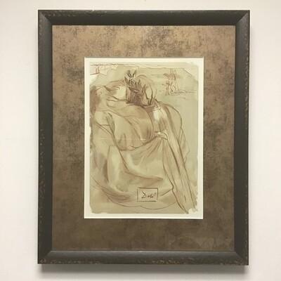 Salvador Dali Framed Reproduction