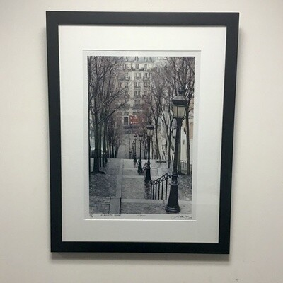 """Framed Photograph """"A Reflective Descent"""" Signed Edition"""