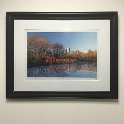"""Framed Photograph """"The Gates In Motion"""" Signed Edition"""