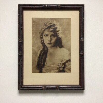 Mary Pickford Photograph Framed