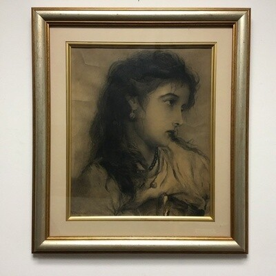 Portrait of A Woman Framed