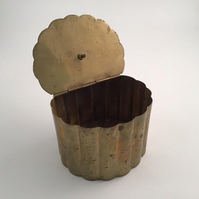 Lidded Brass Box