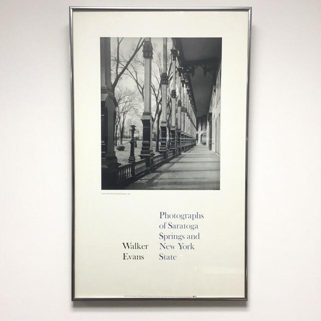 Framed Walker Evans Poster