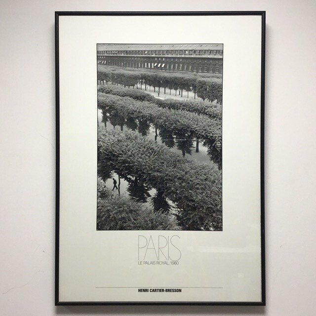 Framed Henri Cartier-Bresson Poster