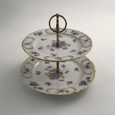 German 2 Tier Serving Plate