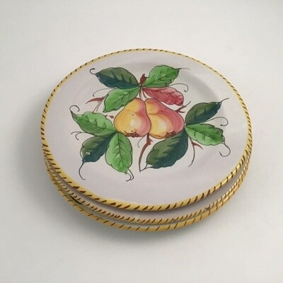 Set Of Three Italian Plates