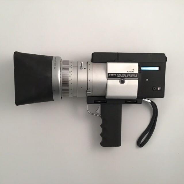 Canon Super 8 Video Camera With Case