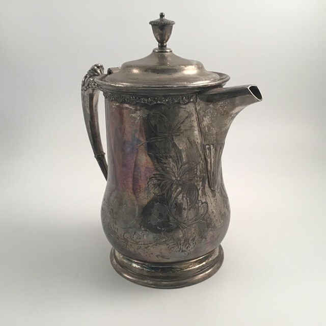 Victor Silver Co Pitcher