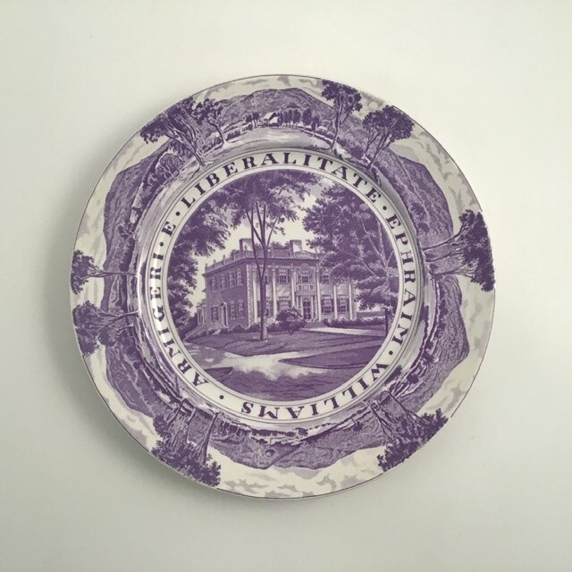 Stanfordshire Williams College Presidents House Plate