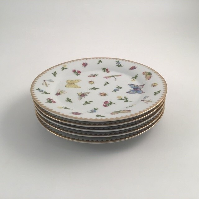 I Goldinger & Co 5pc Butterfly Plate Set
