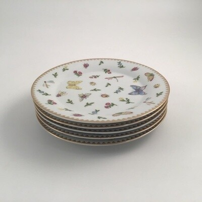 I Goldinger & Co 5pc Butterfly Plate Set